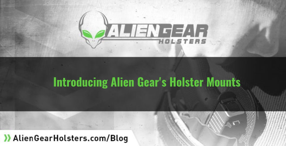 All new alien gear holster mounts