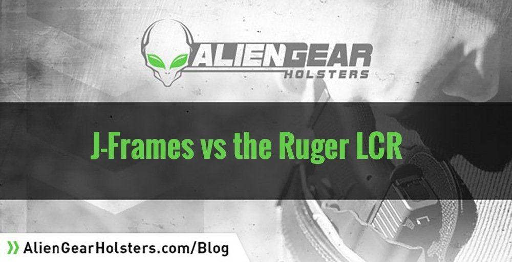 J-Frames vs Ruger LCR for concealed carry