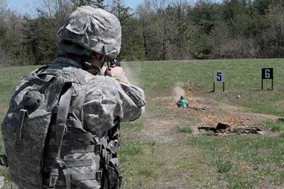 Your military pistol quals may work for concealed carry