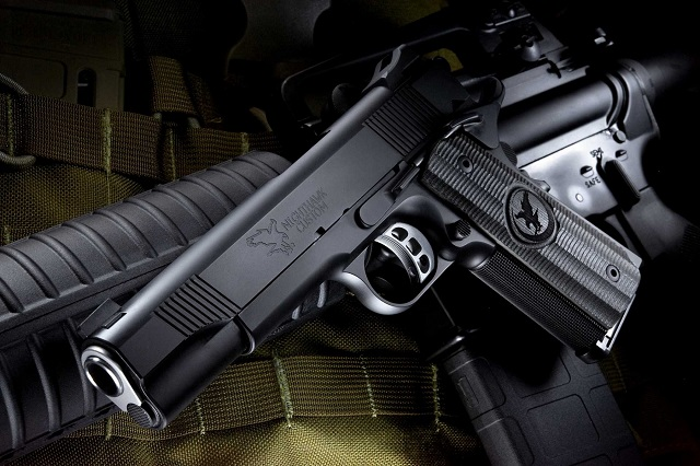 Nighthawk Custom 1911 in .45 Caliber