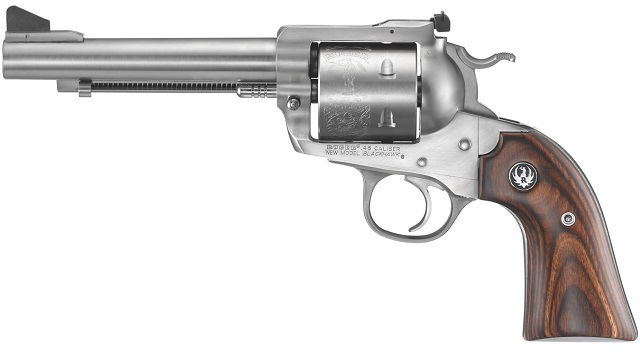 Ruger Blackhawk revolver in .45 caliber