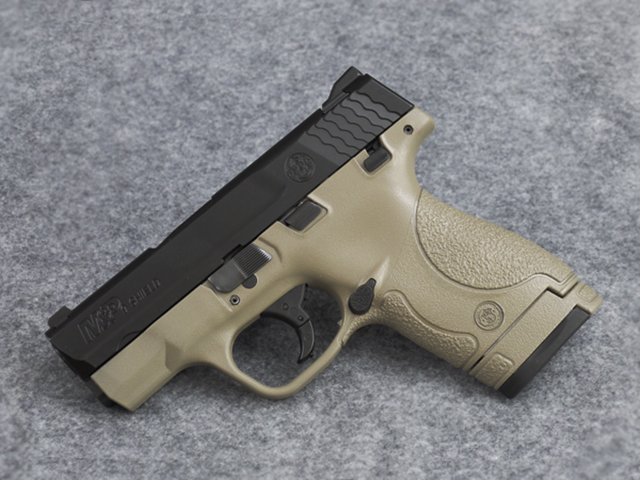 Two-Tone FDE Version of the M&P Shield