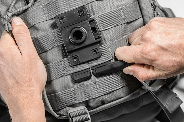 The modular ShapeShift MOLLE holster