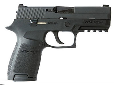 The specs of the Sig P250 for concealed carry