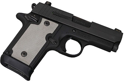 black/white grips on sig p938 for concealed carry