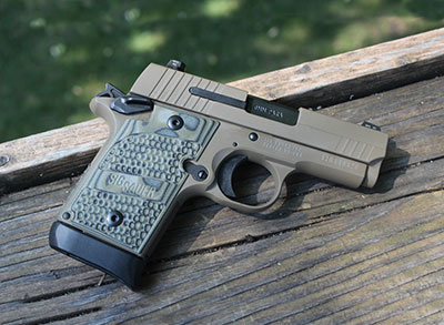 Sig P938 FDE for your concealed carry
