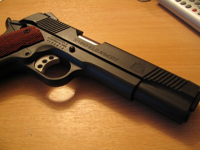 springfield 1911 handgun