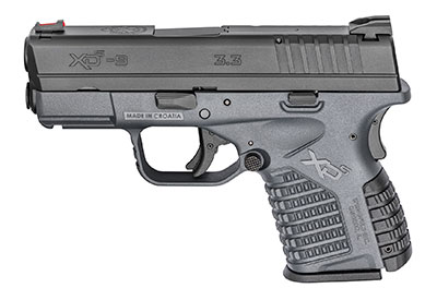 concealed carry specs of the springfield xds