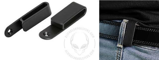 types of holster clips