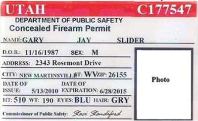 Utah out of state concealed carry weapons