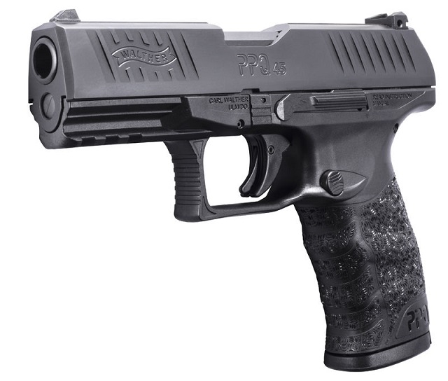 Walther PPQ in .45 caliber