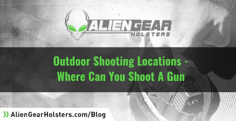 Can You Shoot A Gun in the woods or other secluded locations?