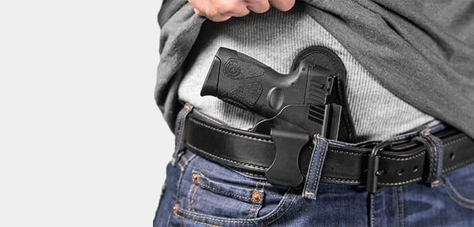 appendix inside the waistband carry holster
