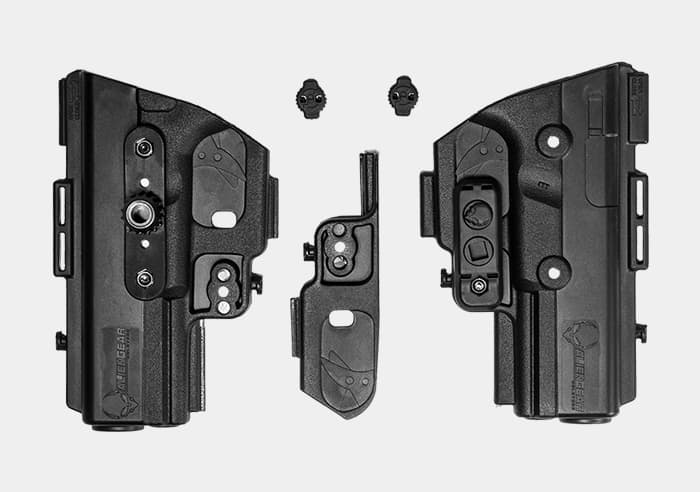 gun holsters for left and right handed