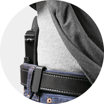 inside the waistband concealment holster