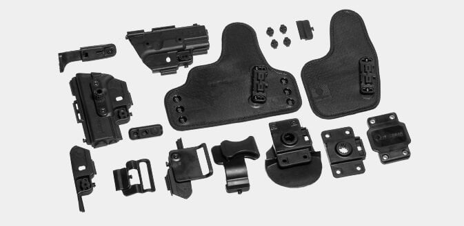 different carry holster options