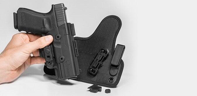 pistol holster mount