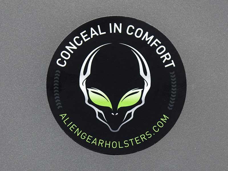 alien gear holster sticker