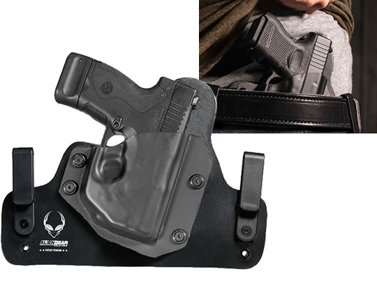 Leather Hybrid Beretta Nano (BU9) with LaserMax Laser Holster