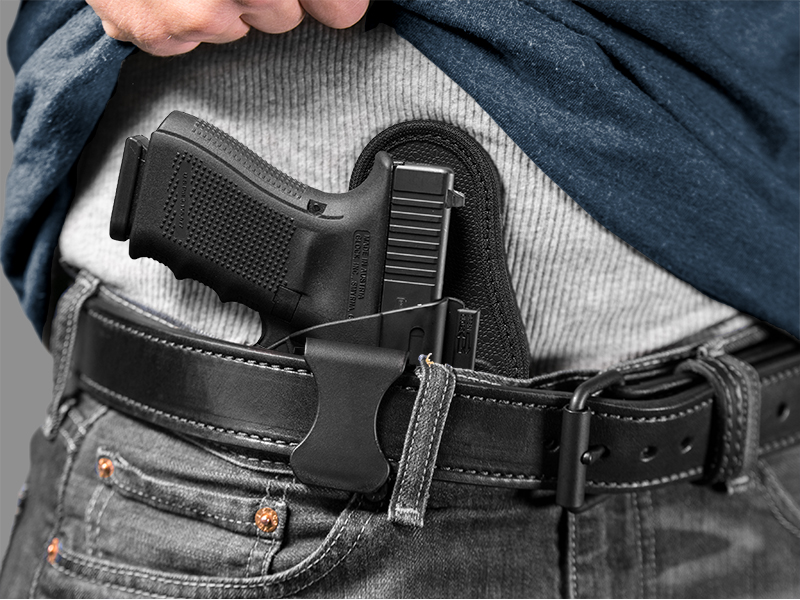 wearing the glock 19 appendix holster