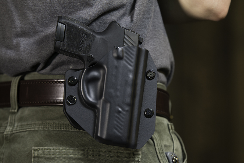 Sig P320 Subcompact Outside the Waistband Paddle Holster