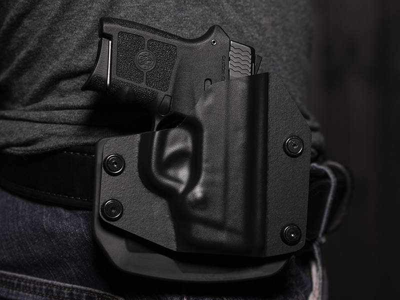 S&W Bodyguard .380 Auto Outside the Waistband Paddle Holster