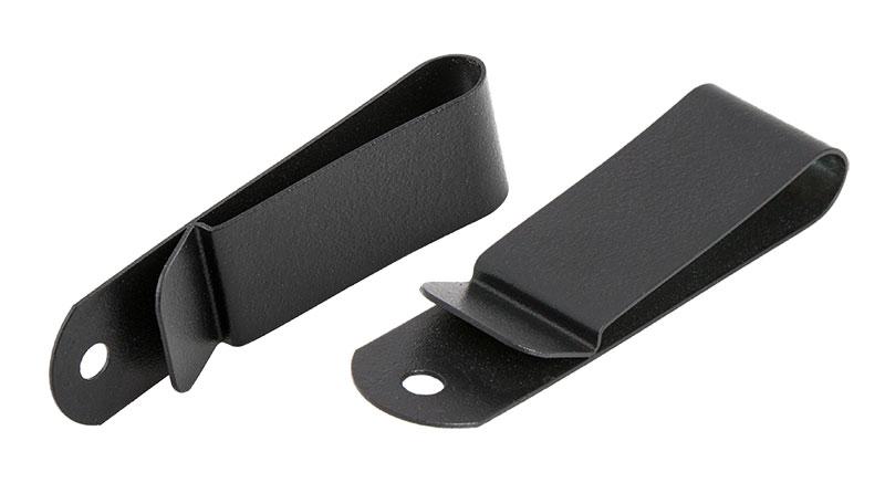Black Steel Clips