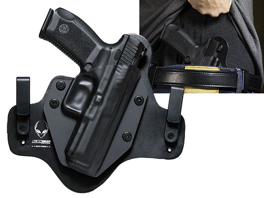 IWB Leather Hybrid Holster for the Canik TP9 SA