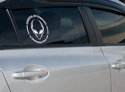 concealed carry sticker