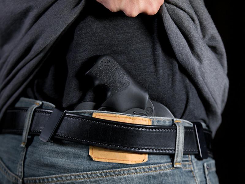 Ruger LCR 38 SPL Revolver Cloak Tuck IWB Holster (Inside the Waistband)