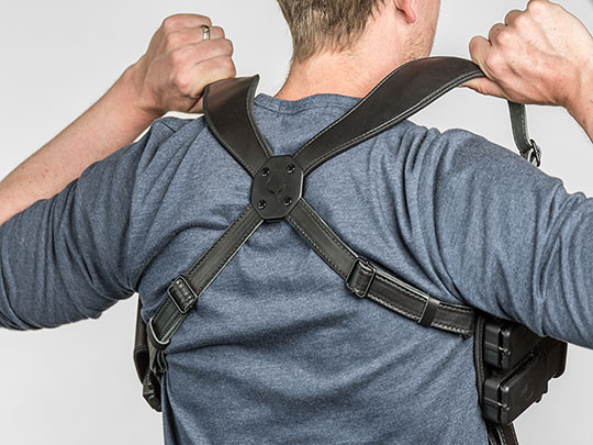 double carry shoulder holster