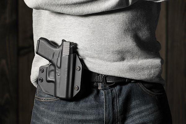 Glock - 43 Cloak Mod OWB Holster (Outside the Waistband)