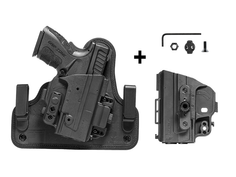Walther PPQ M2 4 inch 9mm ShapeShift 4 0 IWB Holster