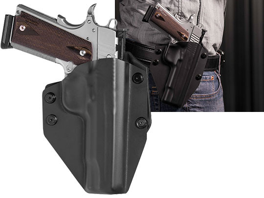 1911 - 5 inch Cloak Mod OWB Holster (Outside the Waistband)