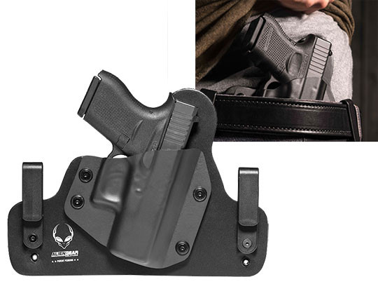 Best Leather IWB Holster for the glock 43