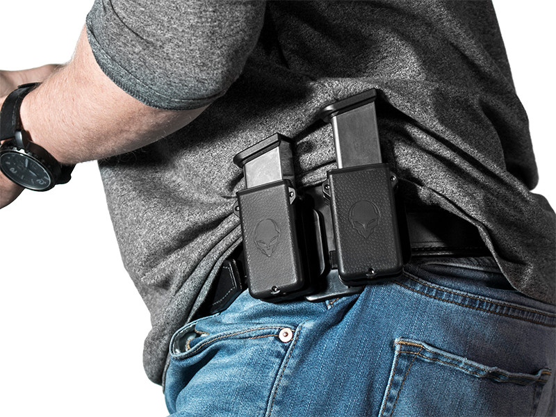 Double Magazine Holster - Dual Cloak Mag Carrier | Alien