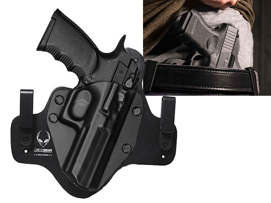 Leather Hybrid Magnum Research Baby Desert Eagle III Holster
