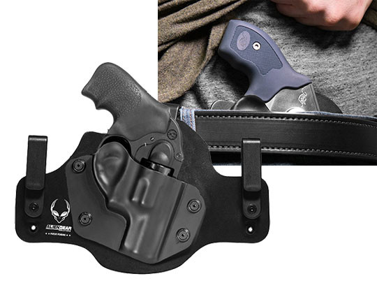 Ruger LCR 9mm Revolver Cloak Tuck IWB Holster (Inside the Waistband)