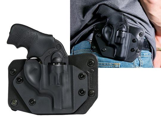 Ruger LCR 38 SPL Revolver Cloak Slide OWB Holster (Outside the Waistband)