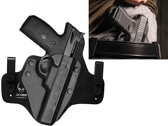 Leather Hybrid S&W 22A-1 22lr Holster