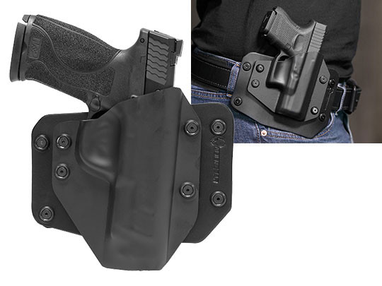 Outside the Waistband Holster for S&W M&P40 4.25 inch barrel