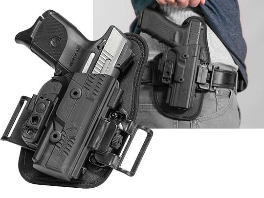 S&W M&P Shield 2.0 40 caliber ShapeShift OWB Slide Holster