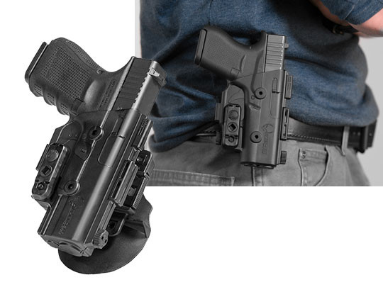 best glock 19 owb paddle holster for shapeshift