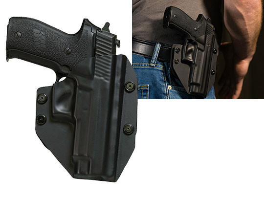 Paddle Holster OWB Carry with Sig P226r