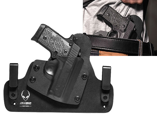 Leather Hybrid Holster for Sig P238