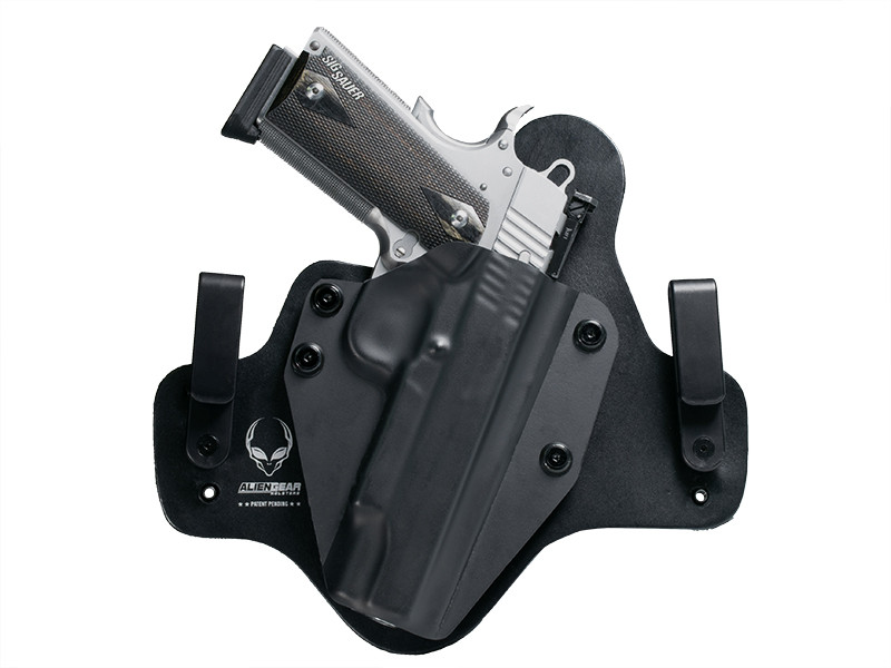 Leather Hybrid Sig 1911 5 inch barrel Holster