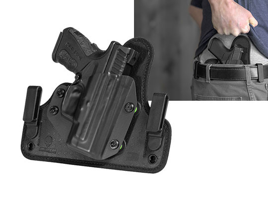 Springfield XD Mod 2 Subcompact 9mm/40cal 3 inch Cloak Tuck 3 5 IWB Holster  (Inside the Waistband)