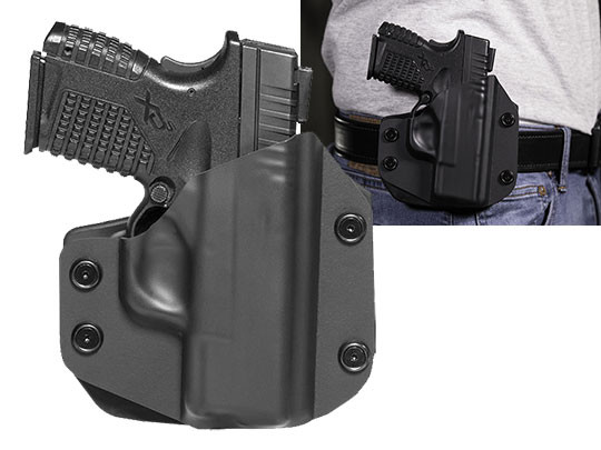 Paddle Holster OWB Carry with XDs 3.3