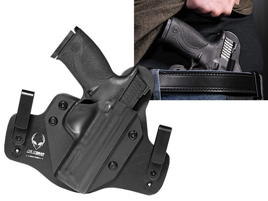 Inside the Waistband M&P40 Leather Hybrid Holster