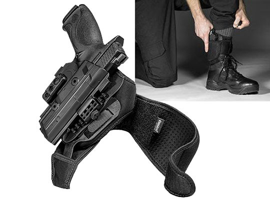 S And W >> S W M P9 4 25 Inch Barrel Shapeshift Ankle Holster